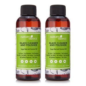 Picture of Nature Direct Glass Cleaner and Polisher Concentrate - 125ml